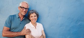 happy senior couple at Eyecare Greengate