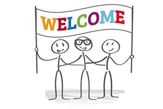 welcome staff