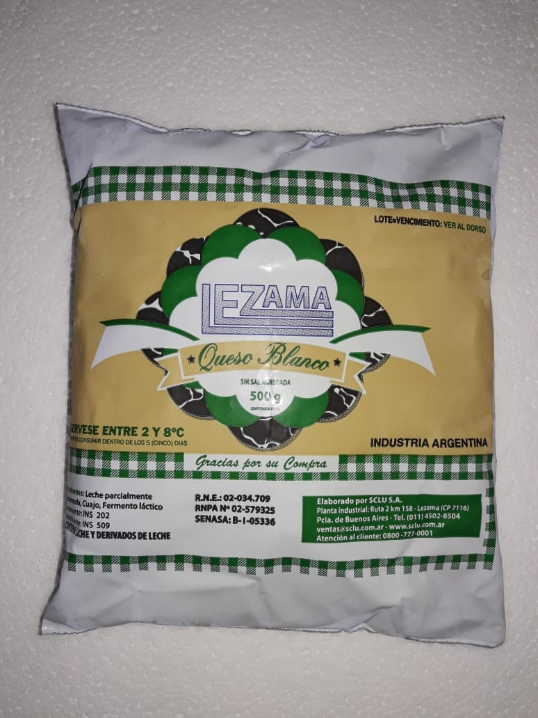 "White Cheese ""Lezama"""