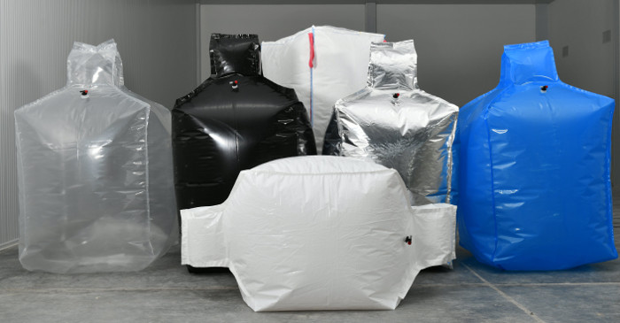 "Big Bags With Intern Liner ""Del Plast Envases Flexibles"""