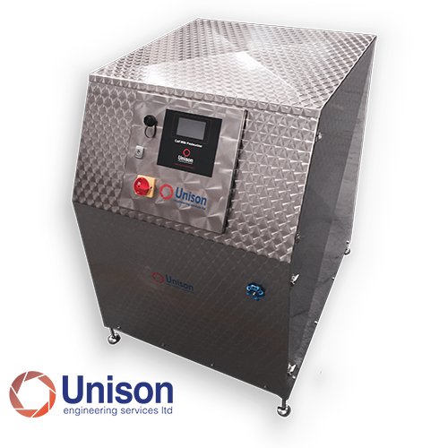 "Pasteurizador Compacto HTST Flash ""Unison Engineering"""