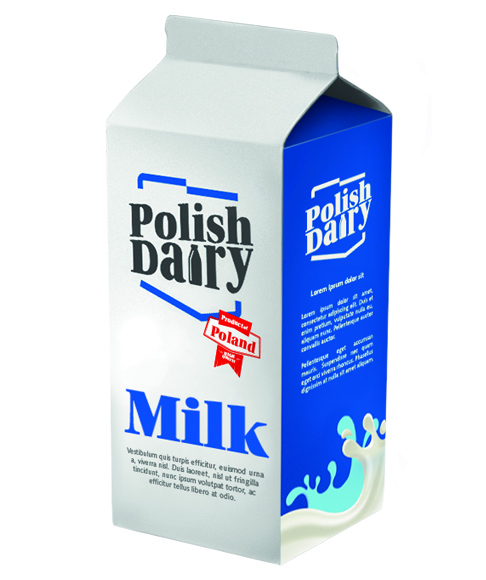 "UHT milk 3,5% ""POLISH DAIRY"""