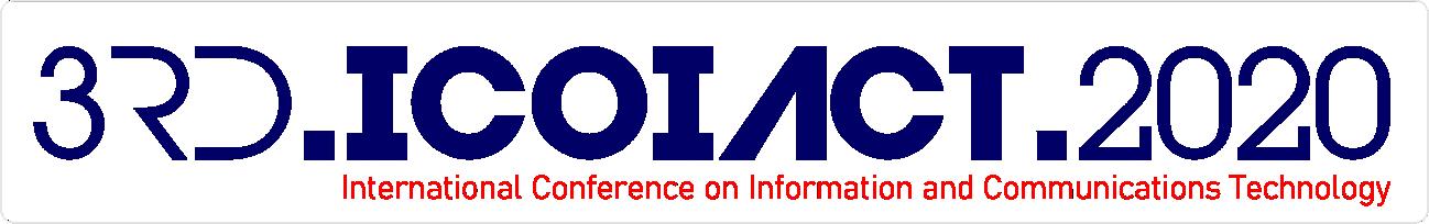 3rd ICOIACT 2020 logo