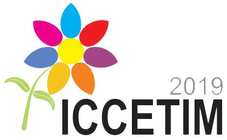 ICCETIM 2019 logo