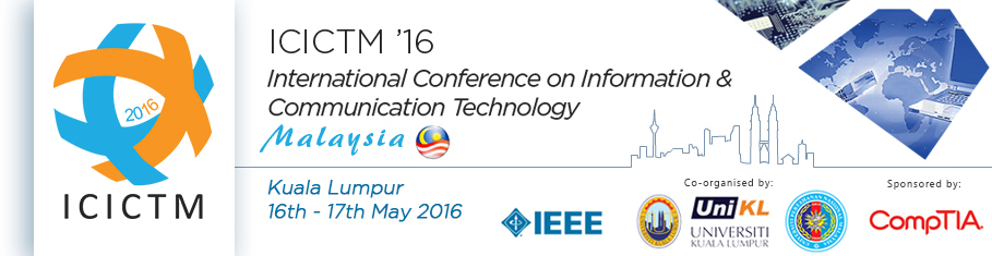 2016 International Conference on Information and Communication Technology (ICICTM)