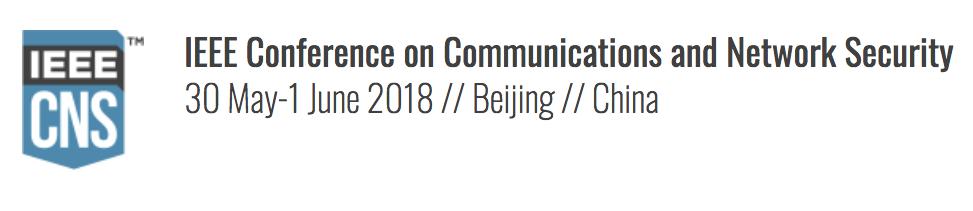IEEE CNS 2018
