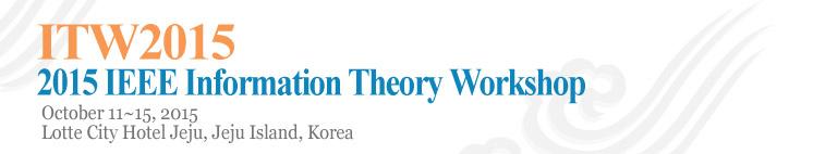 IEEE ITW 2015 Jeju logo