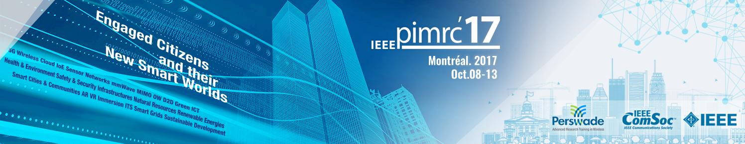 IEEE PIMRC 2017