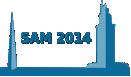 SAM 2014 logo