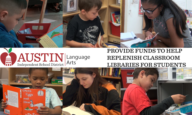 Austin ISD Classroom Libraries Fund