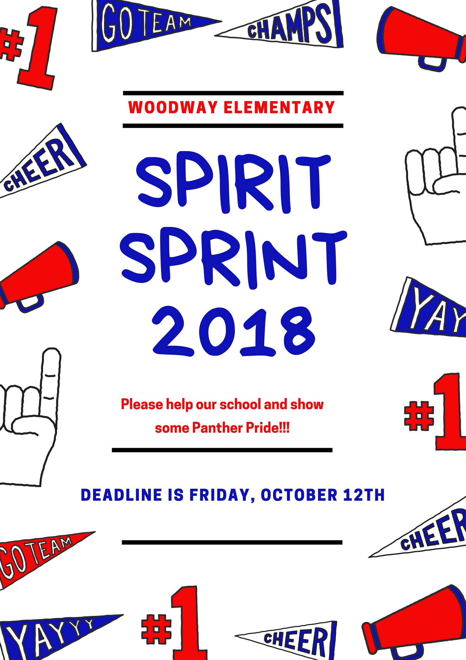Spirit Sprint 2018