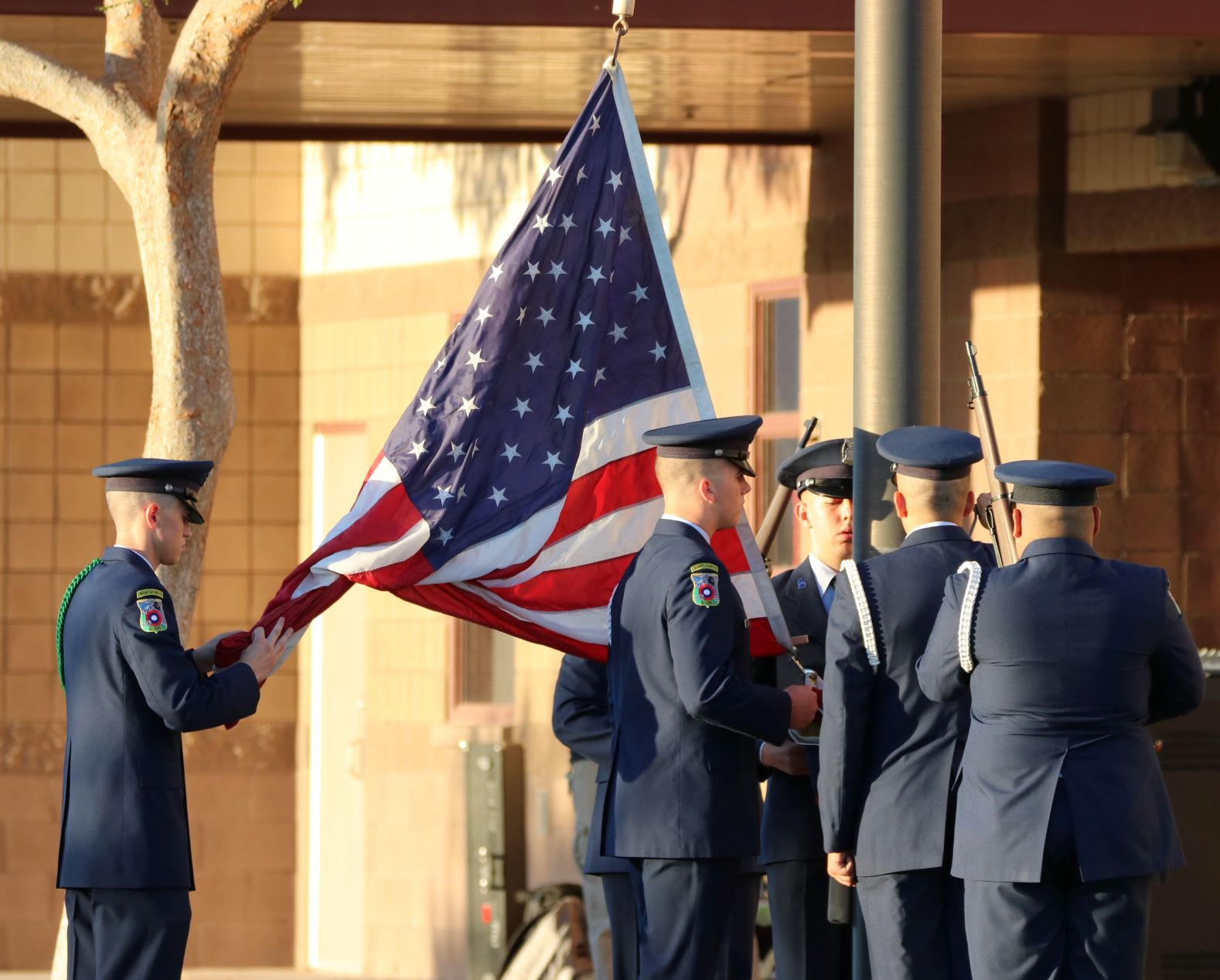 AFJROTC: Not for Self, but for Country -- 2019