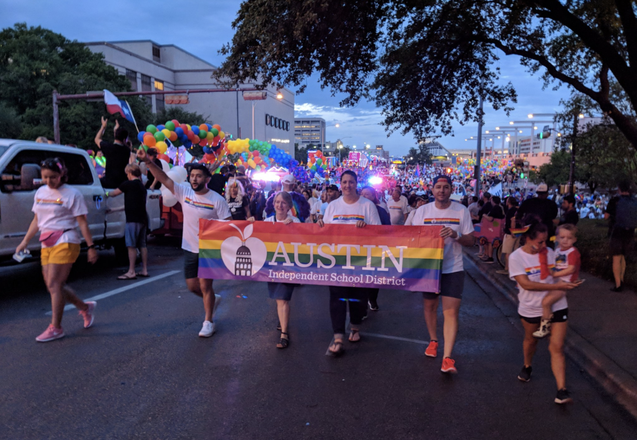 2019 Austin ISD Pride