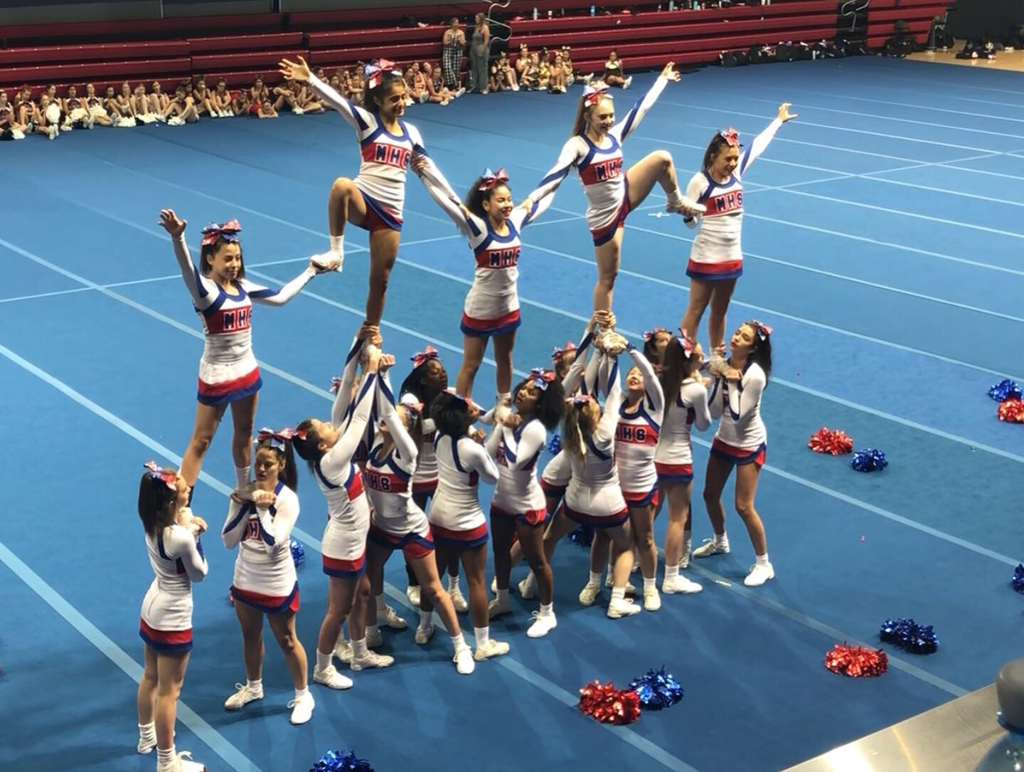 Midway HS Cheer to compete at NCA Nationals!