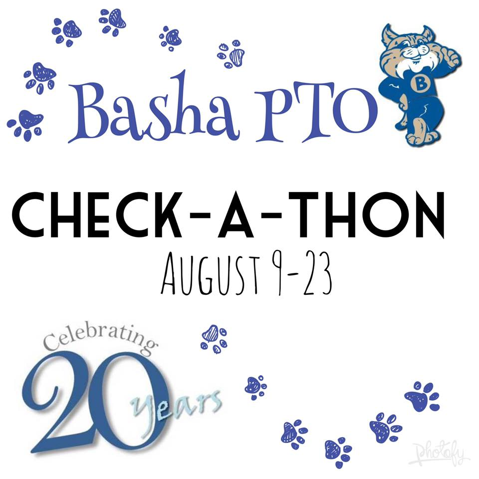 Basha Elementary Check-A-Thon - It's PAWsome!