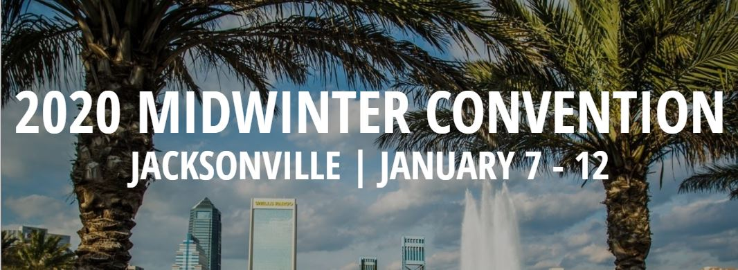 JACKSONVILLE 2020 MIDWINTER CONVENTION