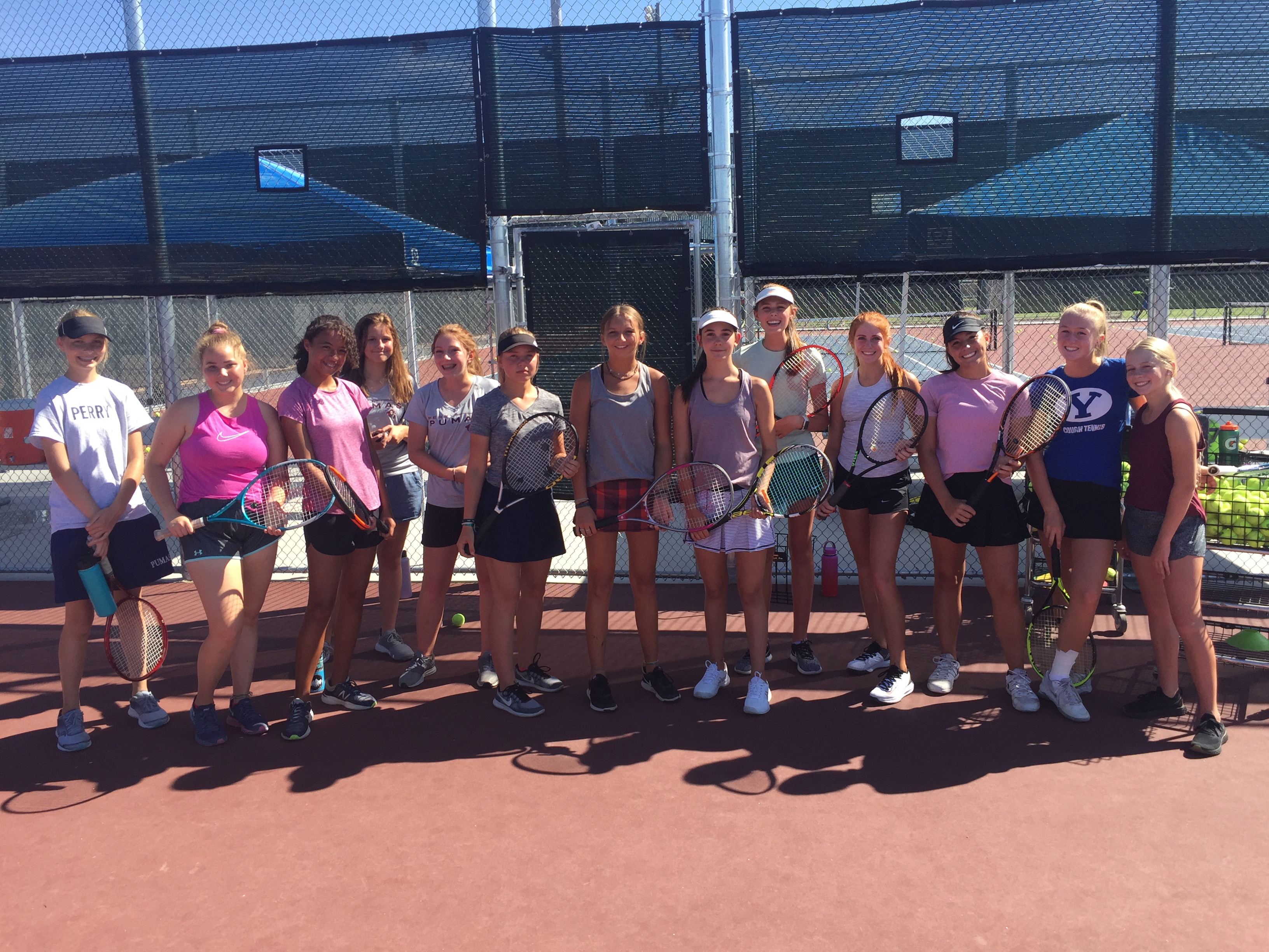 """Perry High School Girls' Tennis: It's All About the """"LOVE""""!"""