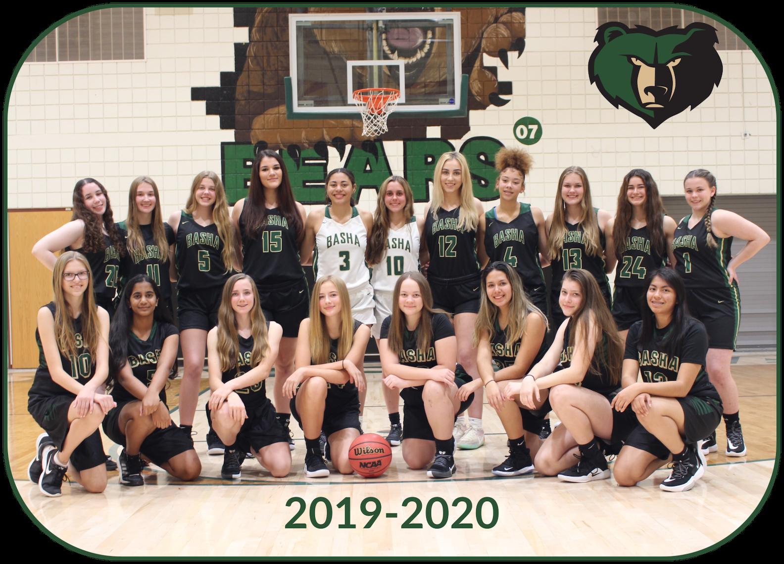 2019 - 2020 Basha Girls Basketball - Support Your Bears!