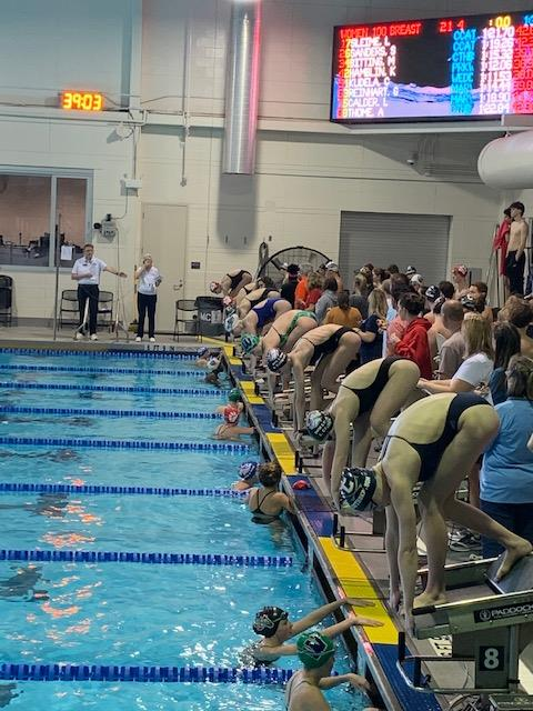 Parkwood High School Swimming 2021