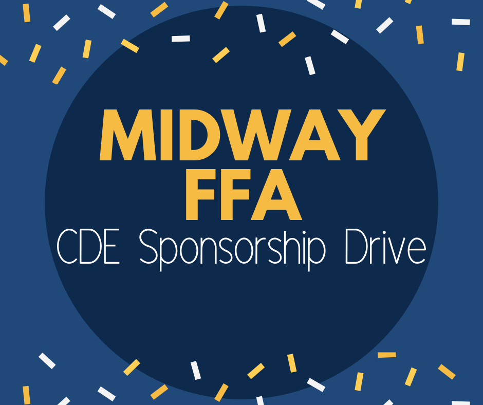 Midway FFA CDE Sponsorship Drive