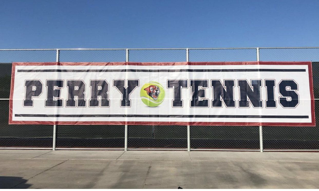 Pumas On 3, Pumas on 3, 1, 2, 3, PUMAS!!!  Perry High School Girls Tennis Boosters Fundraising Campaign