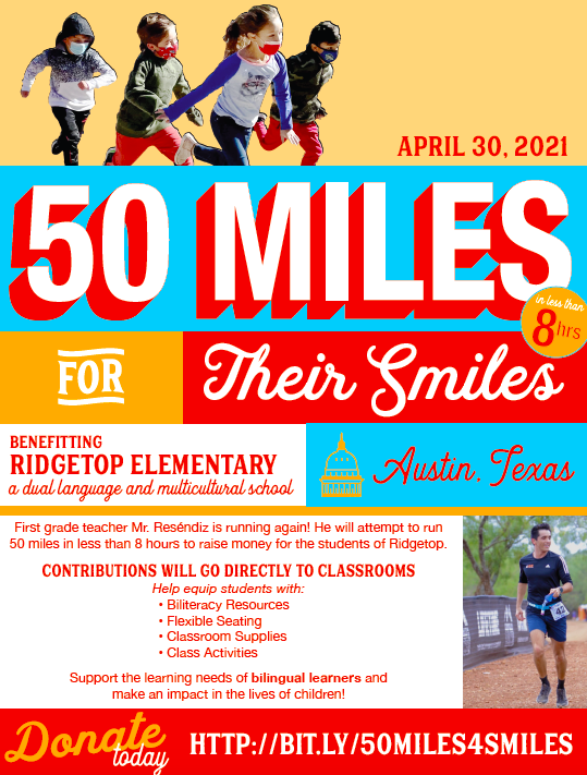 50 Miles for their smiles