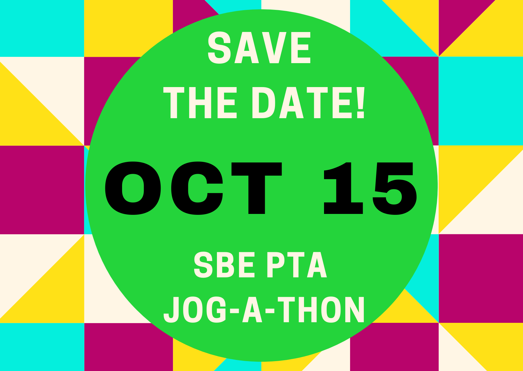 2021 SBE PTA BRIGHT JOG-A-THON