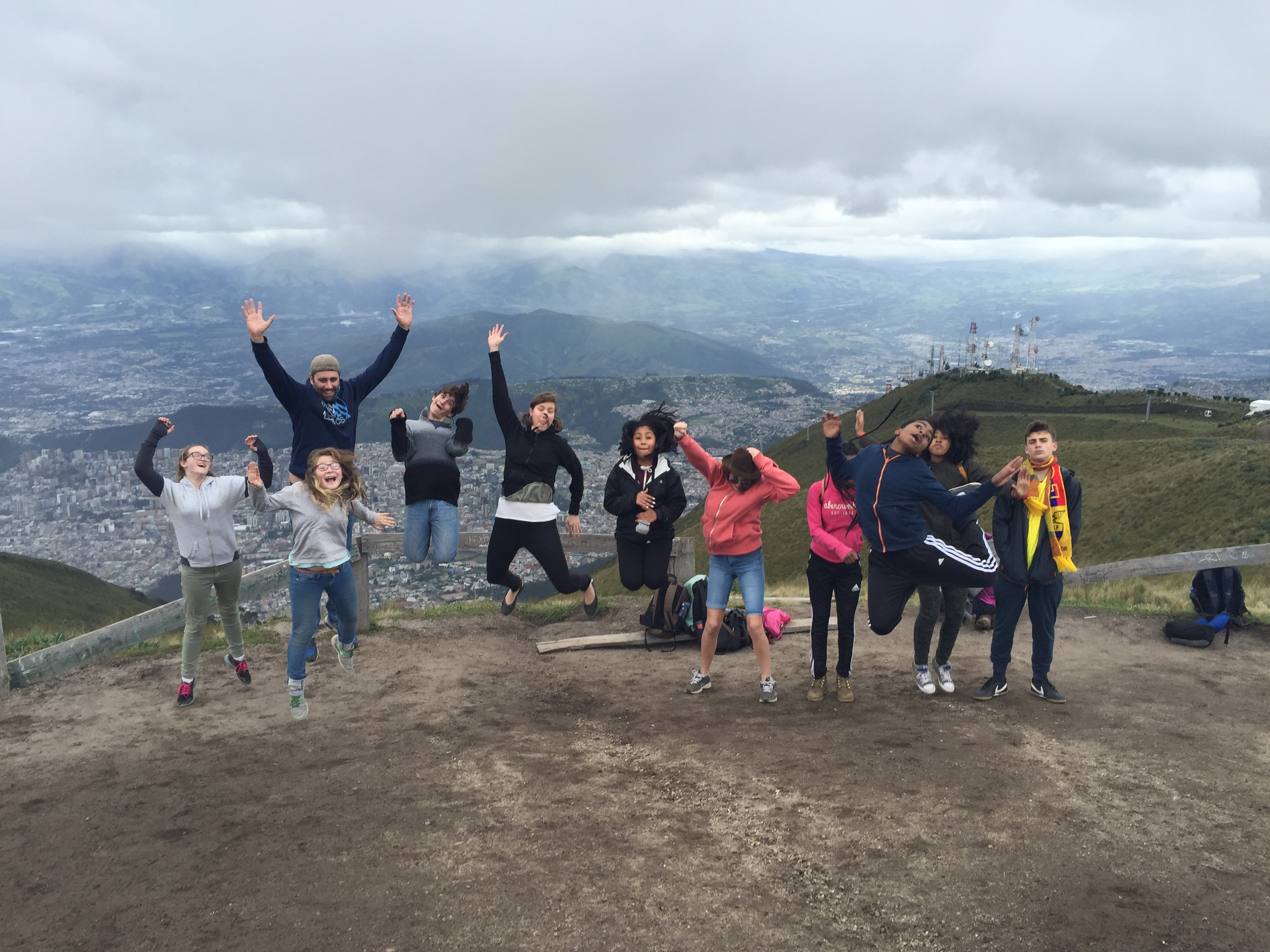 Take Flight: help 7th graders learn in Ecuador and Colombia