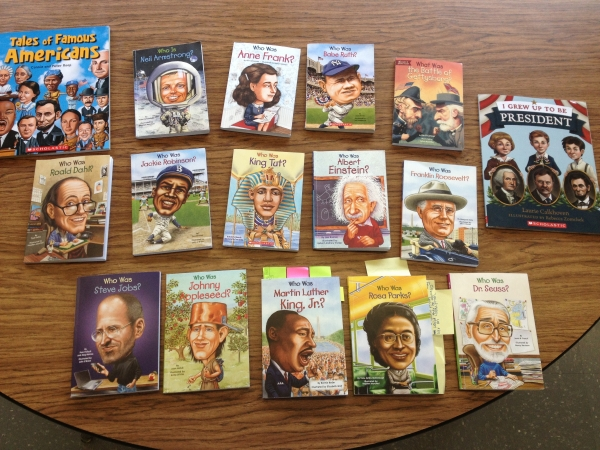 """Inspiring Students Through the """"Who Was?"""" Series"""