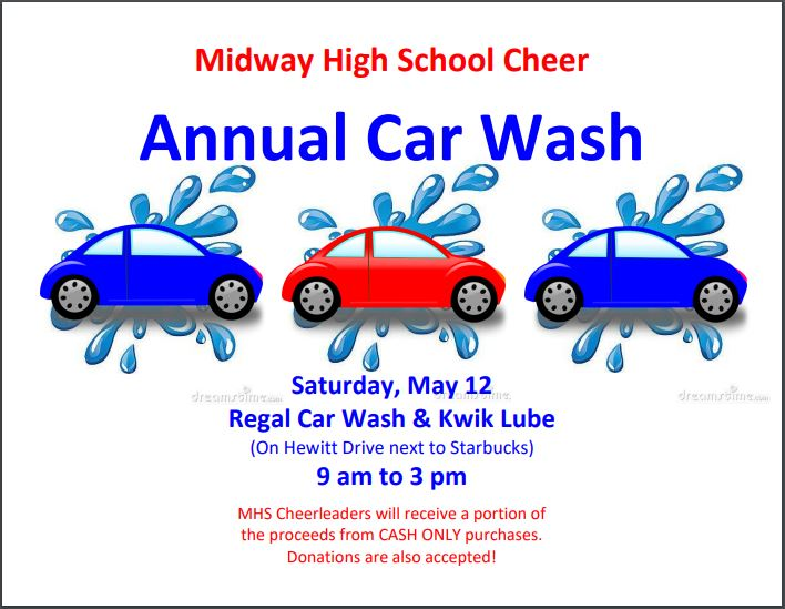 Livingtree Annual Car Wash Fundraiser Campaign
