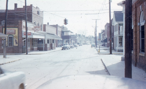 Image-Main Street-Millsboro-Looking South-1958