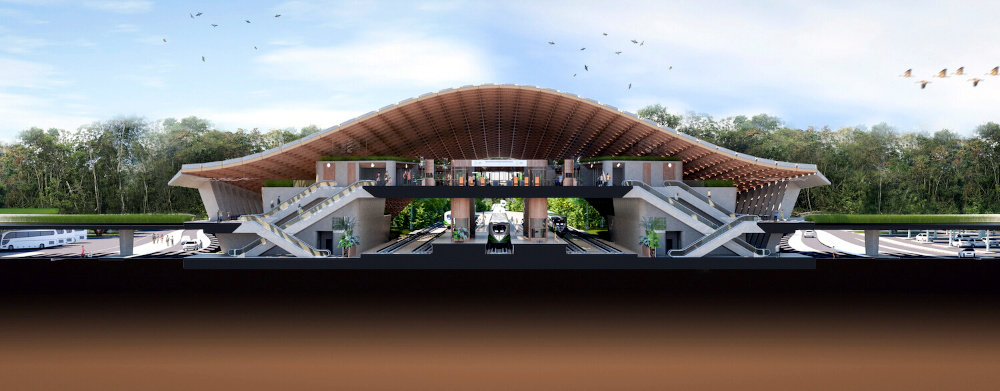 Indigenous-Inspired Design to Help Future-Proof Tulum's New Train Station
