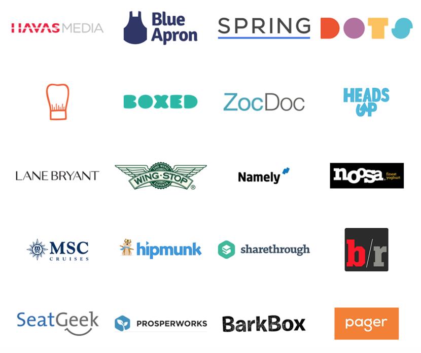 AdStruc client logos