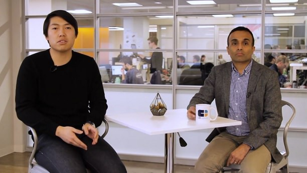 Matthew Wong and Anand Sanwal of CB Insights