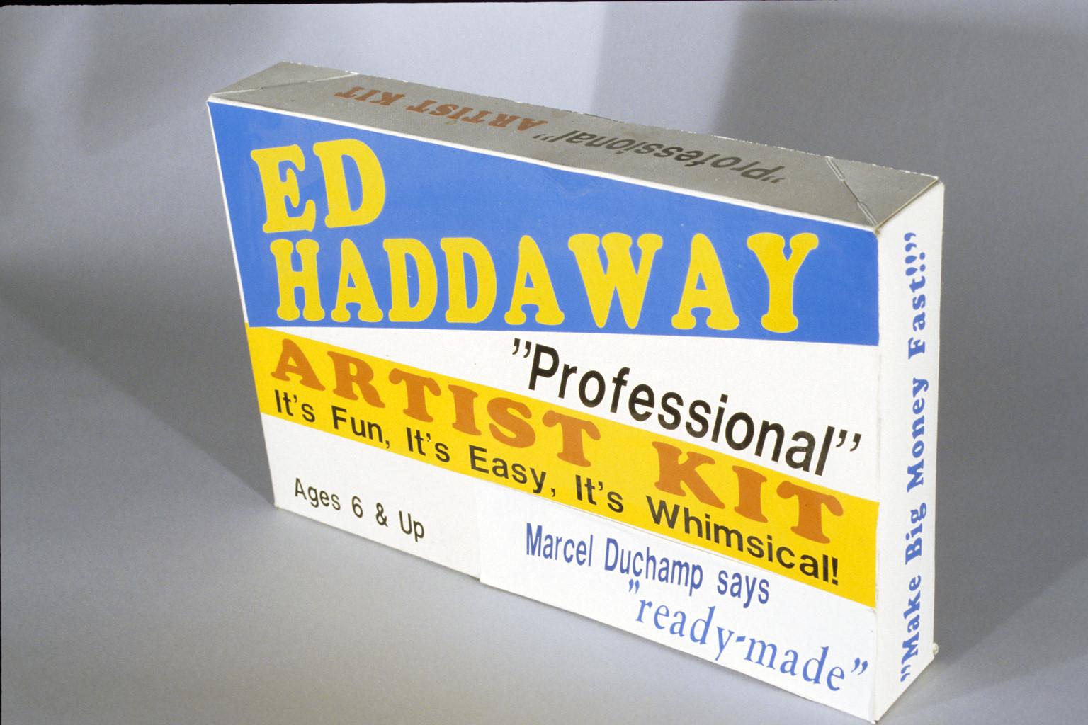 "ED HADDAWAY ""PROFESSIONAL"" ARTIST KIT"