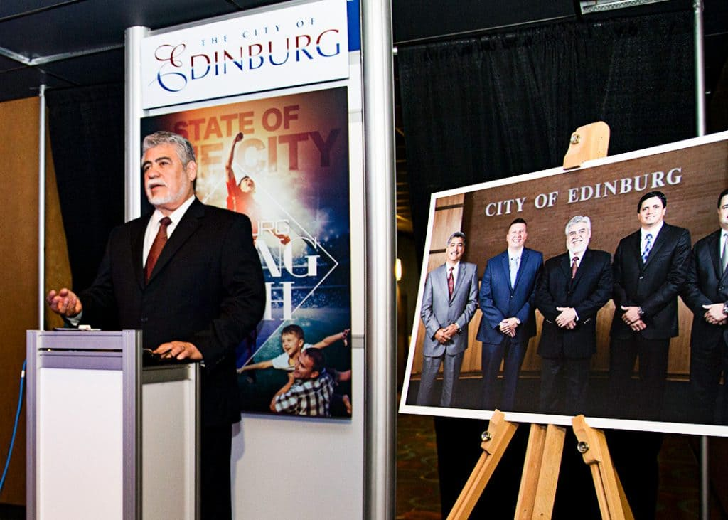 "Edinburg EDC: Mayor García adds landmark ""special needs"" park, designed for Edinburg's younger residents, to Downtown Master Plan - Titans of the Texas Legislature"