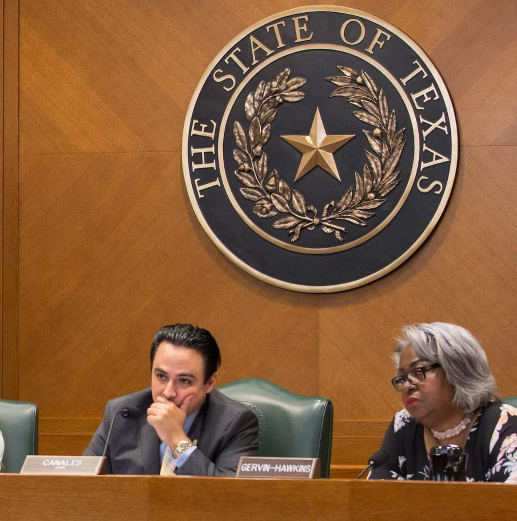 "Rep. Canales' plan to do away with ""debtors prisons"" for poor people who can't pay traffic fines and other minor offenses approved by Texas Legislature and on its way to Gov. Abbott - Titans of the Texas Legislature"