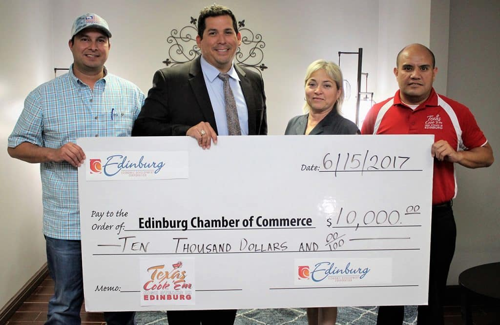 "Edinburg EDC announces Texas Cook 'Em, to be held June 30/July 1, 2017 at H-E-B Park, will help promote community as a major ""Destination City"" - Titans of the Texas Legislature"