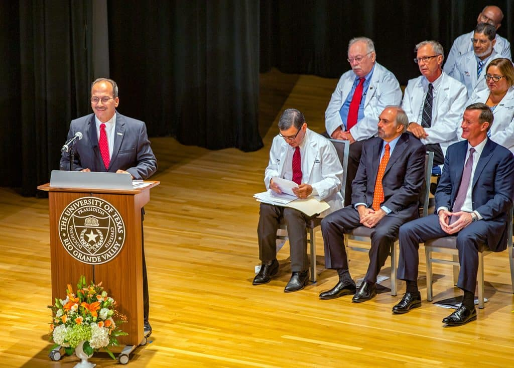 Edinburg EDC: Dr. Havidán Rodríguez, UTRGV Provost and former member of the Edinburg EDC Board of Directors, appointed by New York Gov. Cuomo as President of The University at Albany