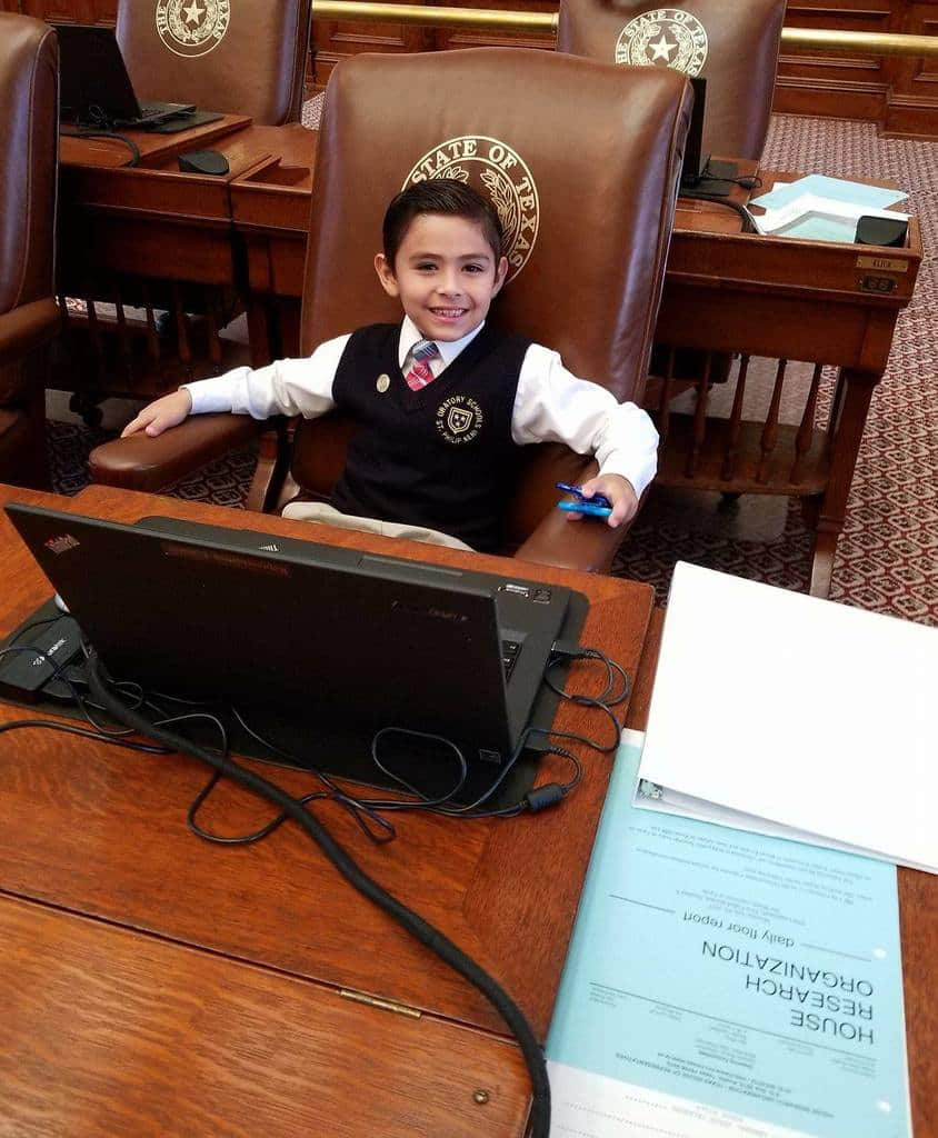 With young namesake's health in the balance, Rep. Terry Canales utilizes Facebook page to ask for prayers for son's possible heart surgeries 5