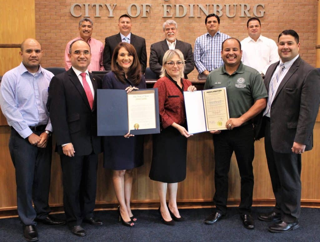 Edinburg EDC: Edinburg Chamber of Commerce honored for vital roles it plays in promoting economic growth, prosperity in local community - Titans of the Texas Legislature