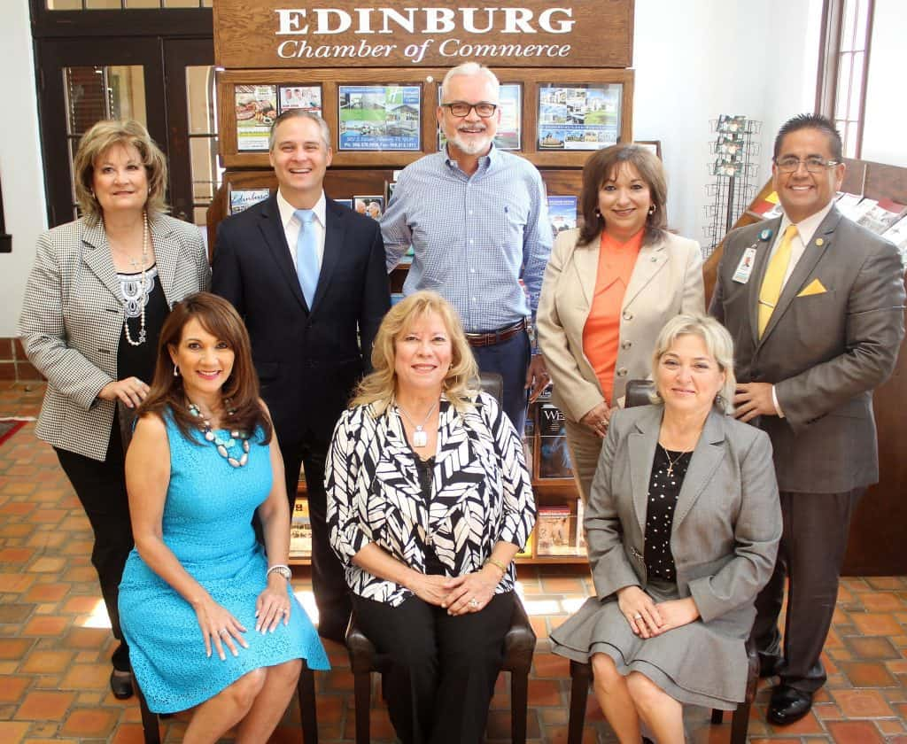 Edinburg EDC: Edinburg Chamber of Commerce honored for vital roles it plays in promoting economic growth, prosperity in local community
