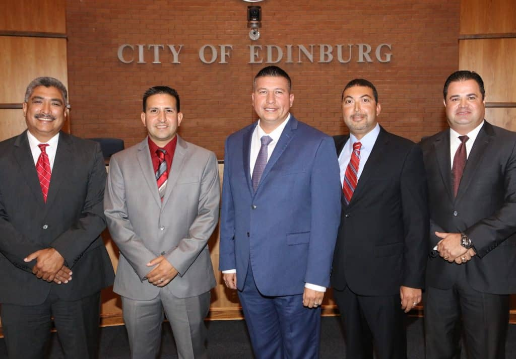 New Leadership of Edinburg EDC Board of Directors, unanimously appointed by Mayor and City Council, set to hold first public session at City Hall at 6 p.m. on Monday, November 20