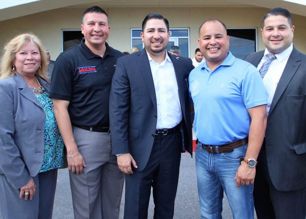 Edinburg's retail economy for November 2017 registered an 8.49 percent improvement – one of the Valley's best figures – over November 2016 - Titans of the Texas Legislature