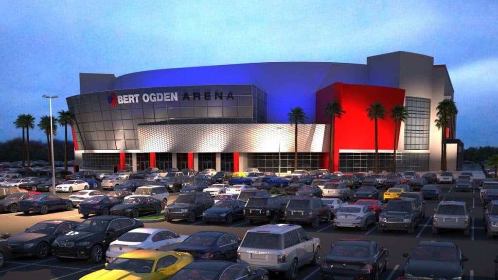 $88.3 million city-owned Bert Ogden Arena update set to presented before the Edinburg City Council on Tuesday, February 6, announces Edinburg Economic Development Corporation - Titans of the Texas Legislature