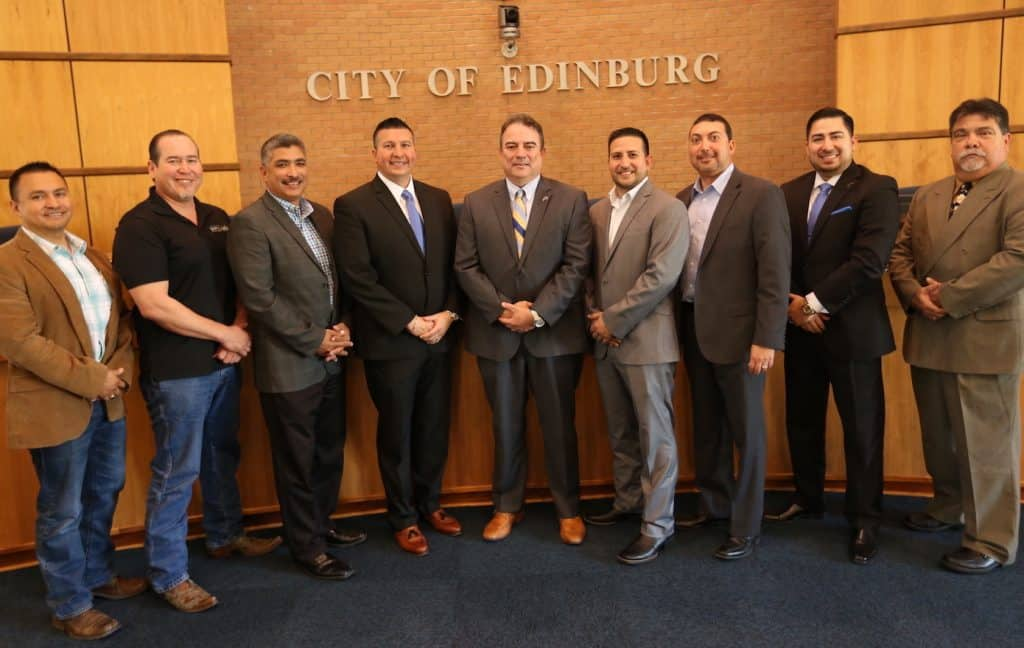Memorial/Eisenhower Sports Complex, Edinburg Transit Facility, First Hartford Realty, and La Sienna sales tax reimbursement agreement among 20 agenda items to be reviewed by Edinburg EDC Board of Directors beginning at noon Tuesday, February 27, at Edinburg City Hall - Titans of the Texas Legislature