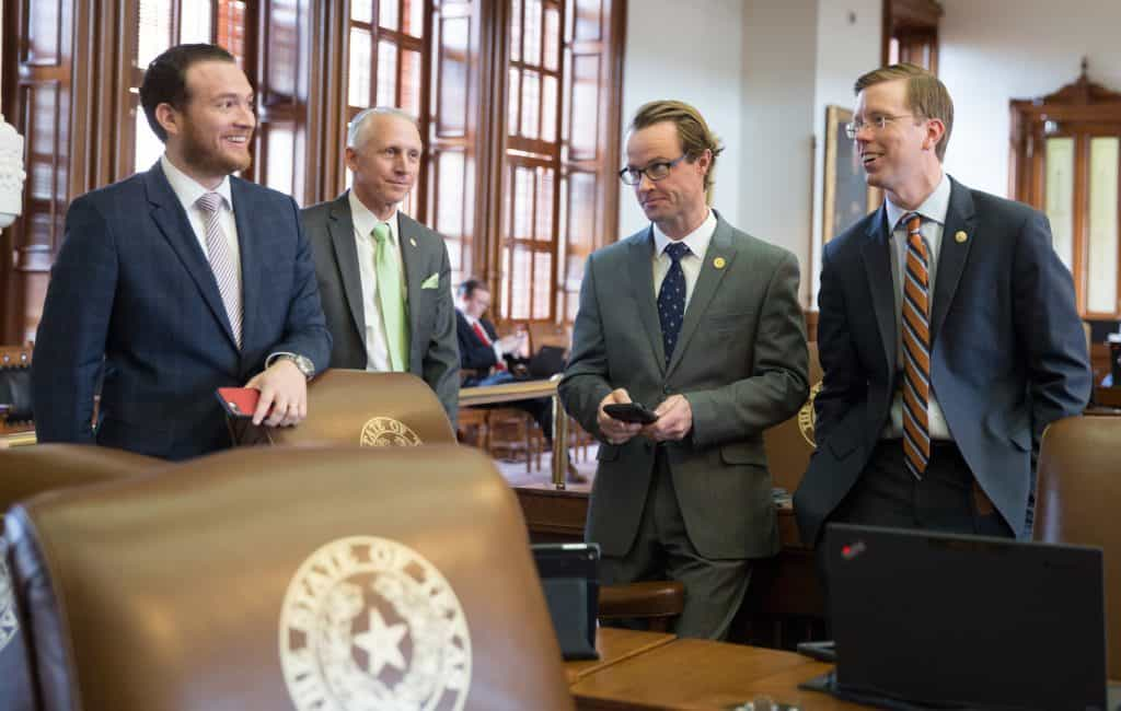 Rep. Óscar Longoria selected for Young Alumnus Award by UT School of Law, joining distinguished list of previous honorees that includes Texas Land Commissioner George P. Bush and Daniel Hodge, the former Chief of Staff for Gov. Greg Abbott - Titans of the Texas Legislature