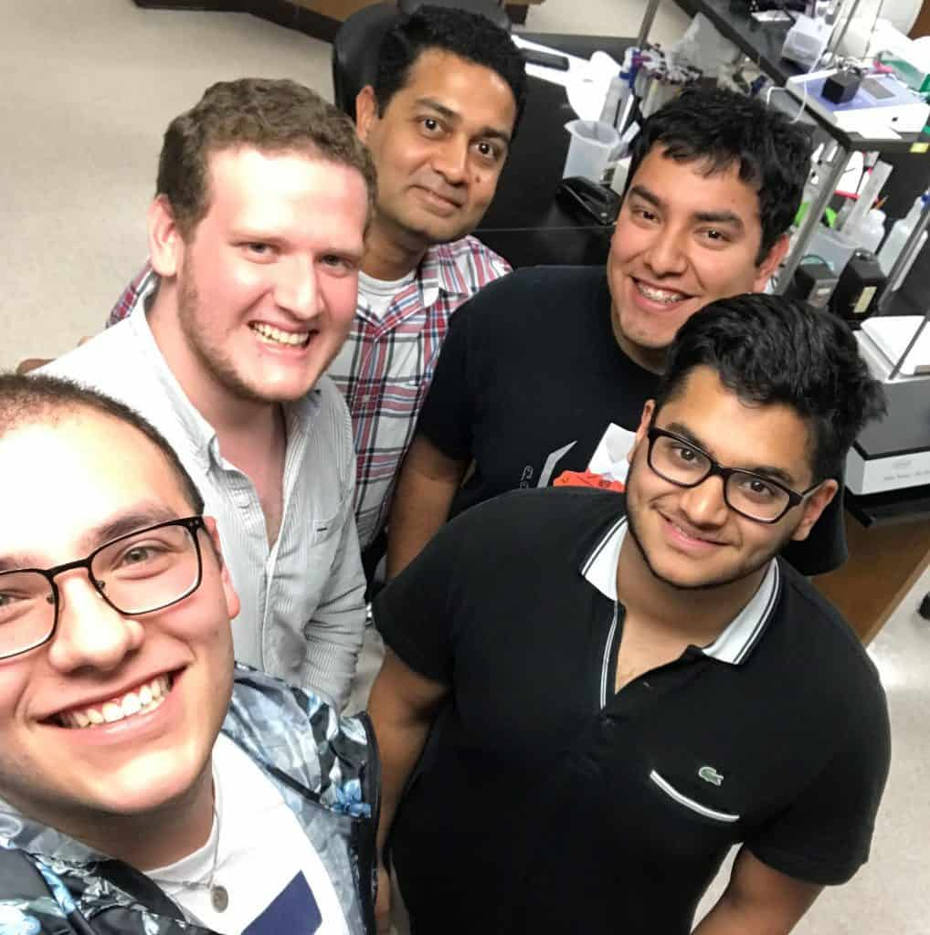 Researchers in the University of Texas Rio Grande Valley's Department of Health and Biomedical Sciences are working to develop a next generation of anti-HIV drugs that are more effective and have fewer side effects.