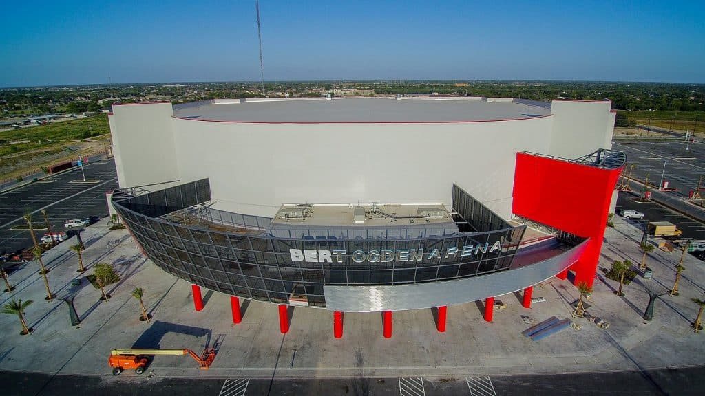 State economic development law, known as Tax Increment Reinvestment Zone, has led to creation of $88.3 million Bert Ogden Arena in Edinburg - Titans of the Texas Legislature