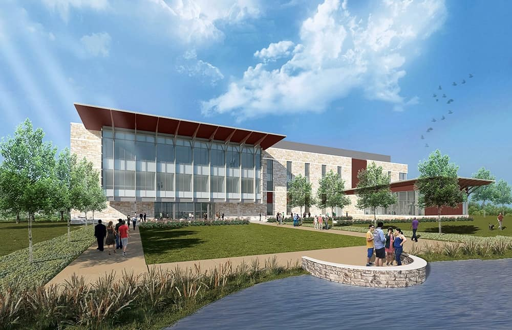Gov. Abbott to dedicate  million Texas A&M McAllen Higher Education Center at 2 this afternoon (Thursday, October 25, 2018)